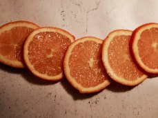 Oranges, for Ris à la Malta