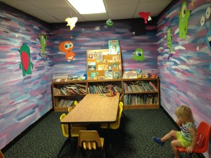 the children's library in Mayaguez