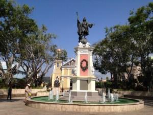 Mayaguez town square