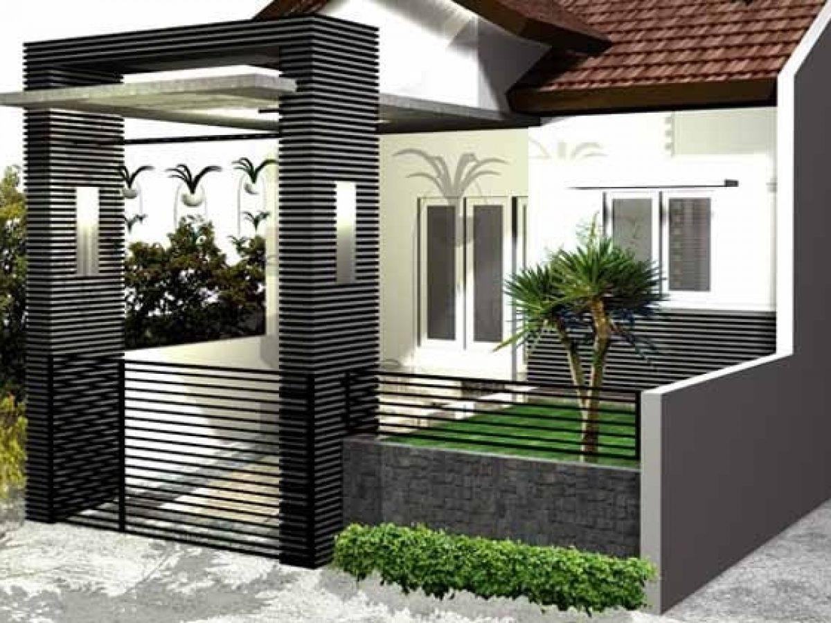 Pagar Rumah Minimalis, Inspirasi Model Dan Desain Trendy Tahun 2020