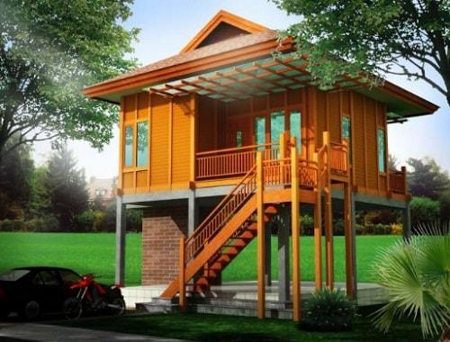 Desain Rumah Panggung Modern Minimalis Kaskus
