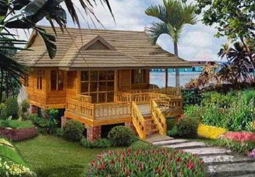 15 Gambar Desain Rumah Adat Jawa Barat Sunda