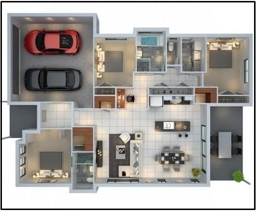 23 Model Rumah Minimalis 3 Kamar Inspirasi Rumah Modern Anda