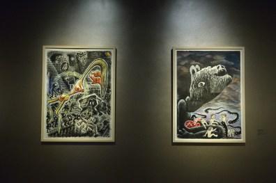 常設展:オランダ人アーティストMies van der Perk作