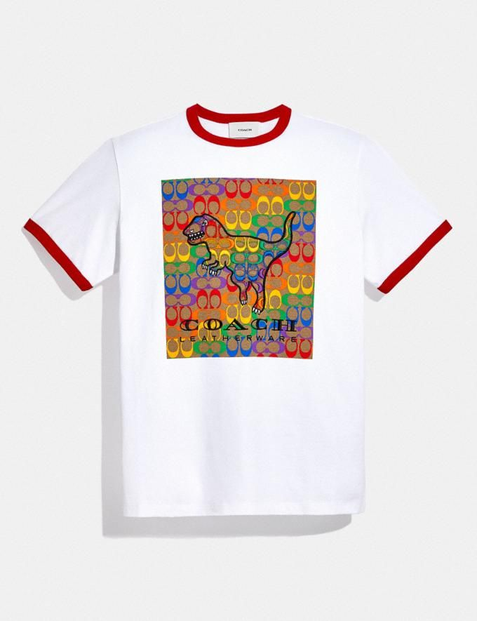 Rainbow Signature Texy T-Sshirt