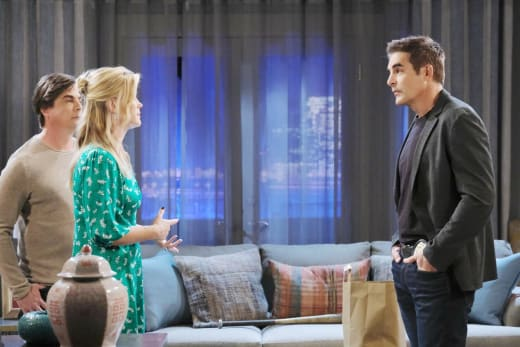 Grilling the Victims - Days of Our Lives