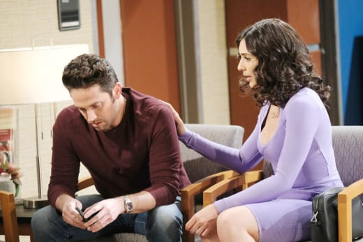 Rushing Kate To The Hospital - Days of Our Lives