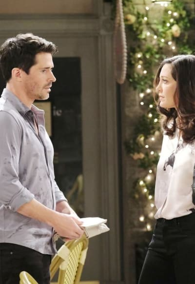 Trapping a Killer / Tall - Days of Our Lives