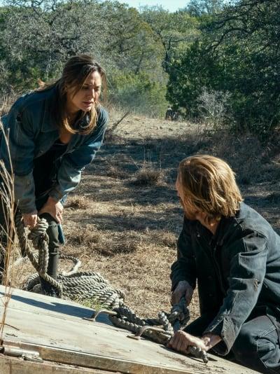 Entering a Bunker - Fear the Walking Dead Season 6 Episode 16