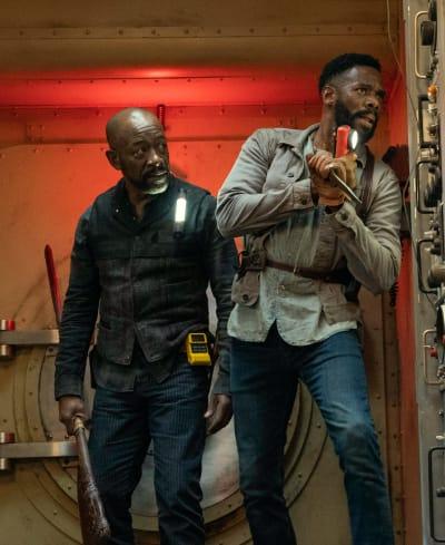 Two Enemies Working Together - Fear the Walking Dead Season 6 Episode 15