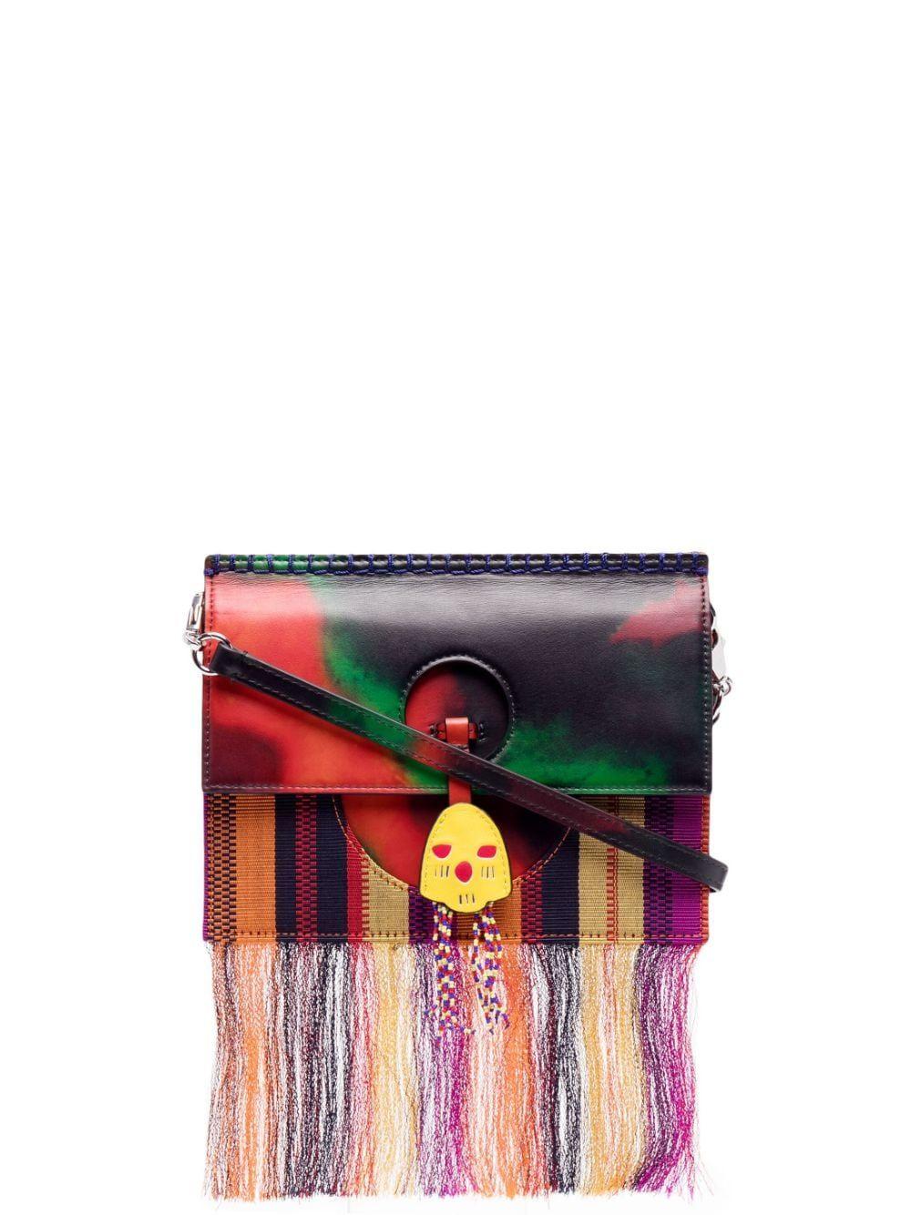 Fringe-Trim Bag