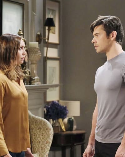 Gwen Finally Opens Up / Tall - Days of Our Lives
