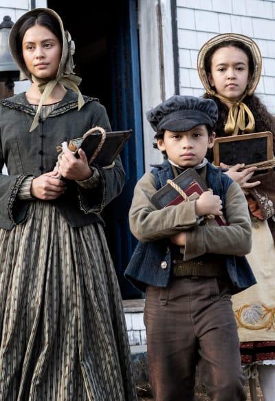 The Boone Children Try School - Chapelwaite Season 1 Episode 2