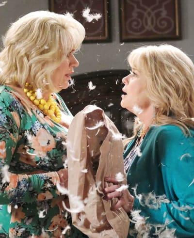 Bonnie and Calista Fight / Tall - Days of Our Lives