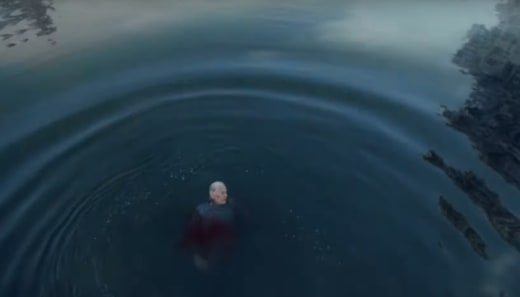 Gibbs in the Water - NCIS