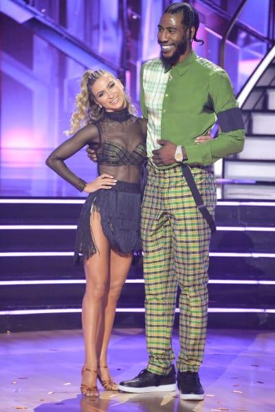 Iman Shumpert and pro Daniella Karagach  - Dancing With the Stars Season 30 Episode 1
