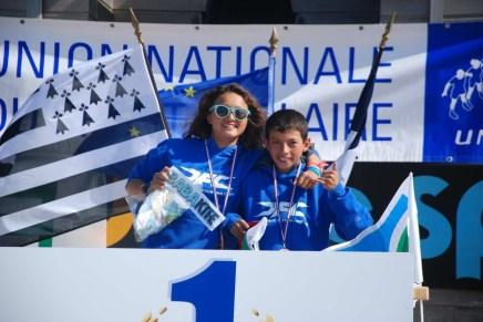 Championne de France FFVL Kitesurf combiné Collèges