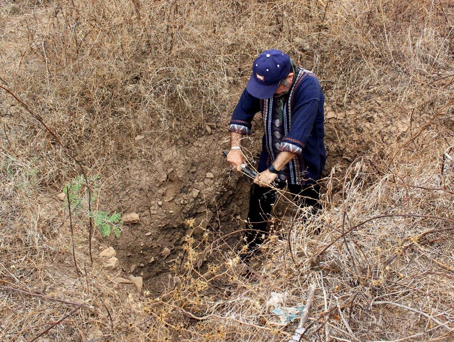 Fosas clandestinas en Iguala. Foto: Ivelín Meza