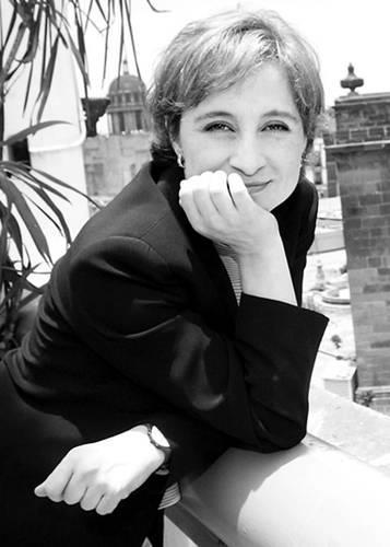 La periodista Carmen Aristegui. Foto: Internet