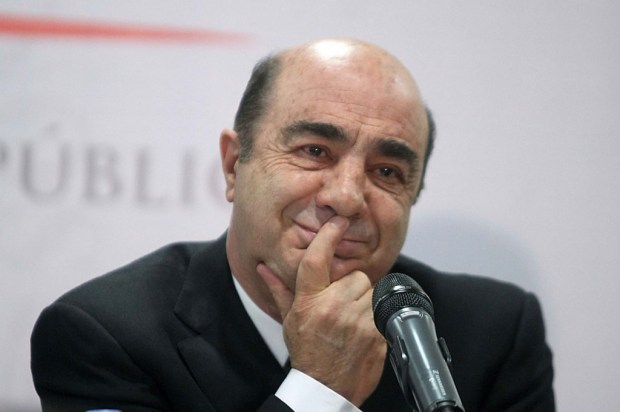 El ex pocurador de Justicia, Jesús Murillo Karam. Foto: Germán Canseco.
