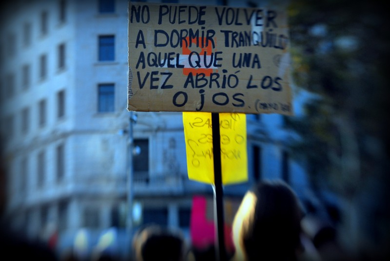 Manifestación en Madrid, España. Foto: Marta Martínez Riera/Flickr