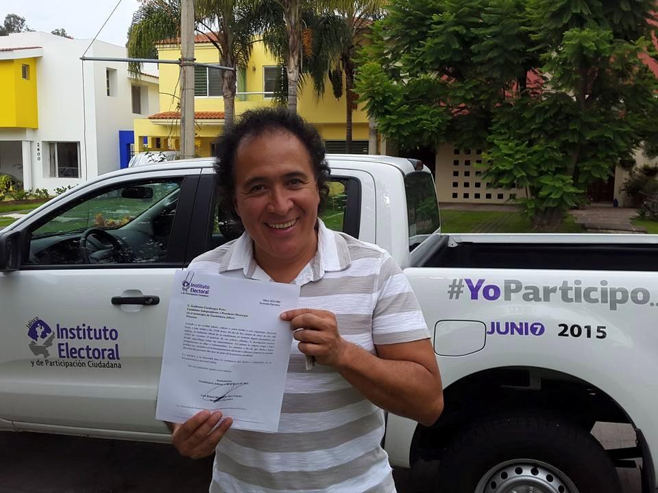 Guillermo Cienfuegos mejor conocido como el payaso Lagrimita. Foto: Facebook  Lagrimita Presidente