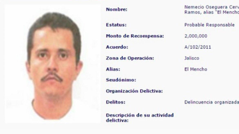 El Mencho, líder del Cártel Jalisco Nueva Generación.