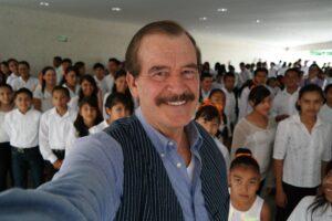 El ex presidente de México, Vicente Fox.