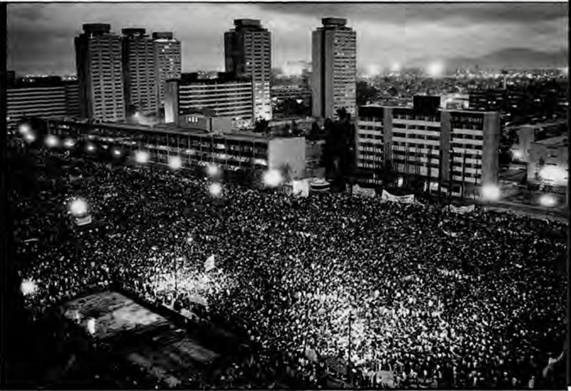 Tlatelolco, 1968. Foto: especial.