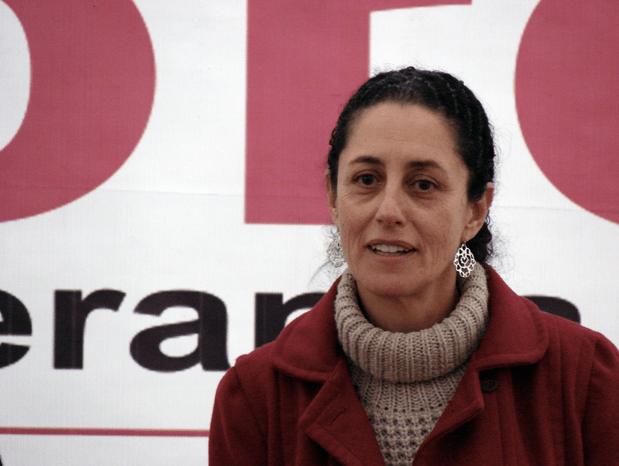 En la imagen, Claudia Sheinbaum.