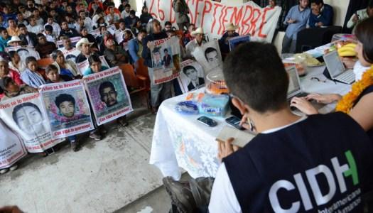Apoyará de nueva cuenta la CIDH en el caso Ayotzinapa