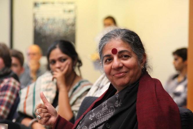 Vandana Shiva. Foto: greensefa/Flickr