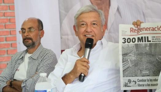Salinas está nervioso porque sus candidatos no repuntan: AMLO