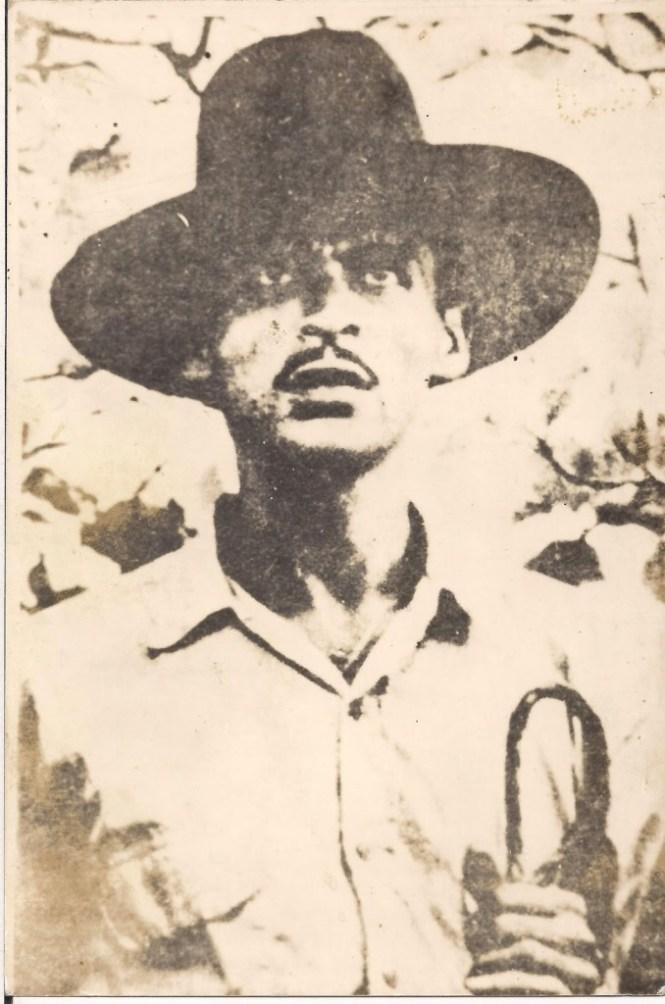 El guerrillero liberal de los Llanos, Guadalupe Salcedo.