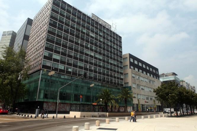 Antiguo edificio que fuera sede de la DFS. Foto: Benjamin Flores/Proceso