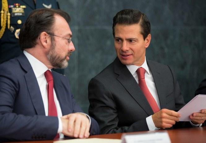 Luis Videgaray y Enrique Peña Nieto. Foto: Especial