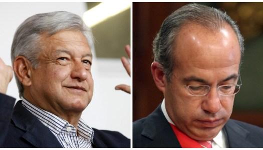 AMLO abrió la puerta para enjuiciar a Calderón y los ciudadanos ya juntan firmas