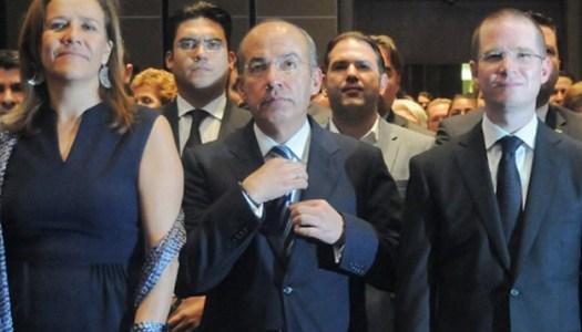 Ricardo Anaya quiere hundir a Felipe Calderón con el caso Odebrecht