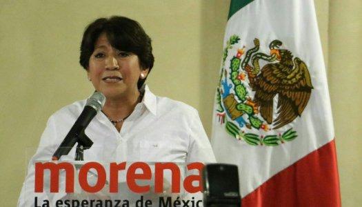 No aceptaremos imposición, seguimos en pie de lucha: Delfina Gómez