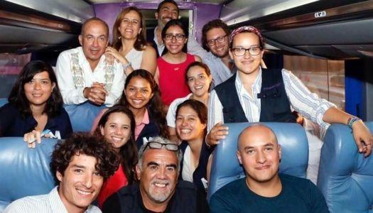 Calderón hace campaña con Margarita; busca regresar a Los Pinos en 2018