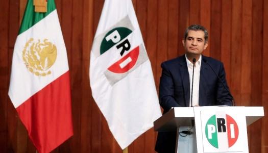 """PRI pide a oposición """"expulsar la avaricia de sus corazones"""""""