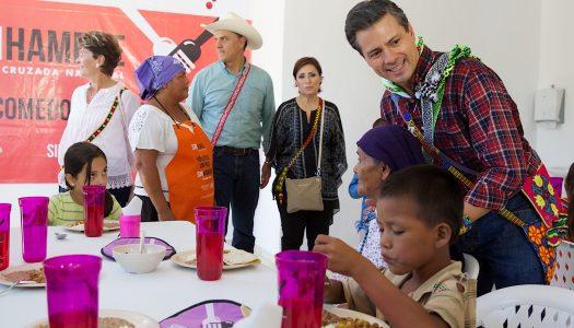 """Presupuesto para combatir hambre se usó para presumir """"logros"""" de EPN"""