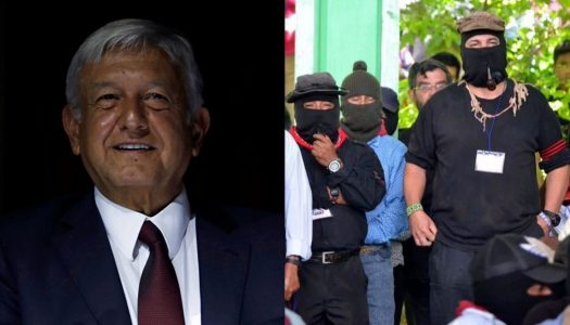 AMLO envía carta al EZLN vía el Padre Solalinde
