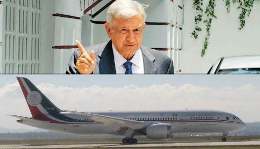 No me subiré al avión presidencial, viajaré en aviones comerciales: AMLO