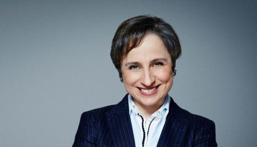 Carmen Aristegui regresa a la radio; mañana ofrecerá rueda de prensa