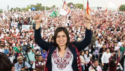 Claudia Rivera, la mujer que desde las bases de Morena ganó Puebla