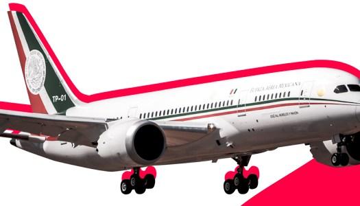 Regresa avión presidencial a México; sigue en venta