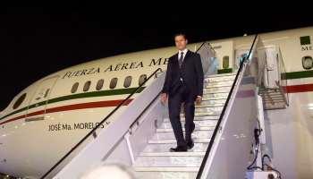 Peña Nieto no podrá usar el avión presidencial un mes... está en el taller