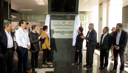 EPN hace falsa inauguración de la Línea 3 del Tren Ligero de Guadalajara