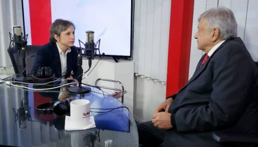 La entrevista completa que Carmen Aristegui le hizo a AMLO